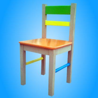 decija stolica drvena
